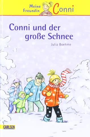 Conni-Erzählbände, Band 16: Conni und der große Schnee