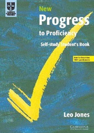 New Progress to Proficiency Self-Study (Cambridge Books for Cambridge Exams)