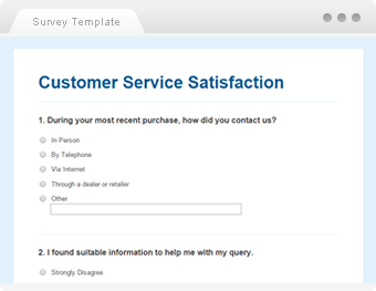 Customer care survey literature review