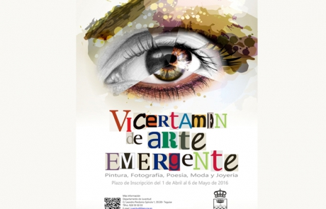 CARTEL  ARTE EMERGENTE web 2016
