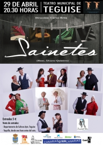 SAINETES Teguise.cartel tv