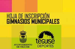 hoja Inscripcion Gimnasios municipales