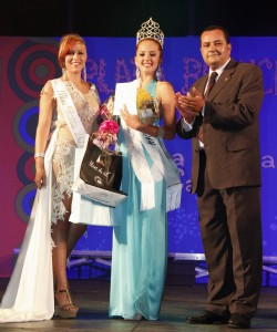 Flamante Miss Yaiza 2014.