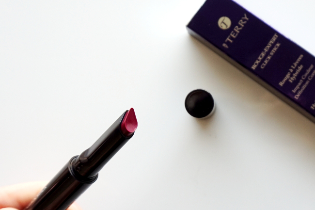 By Terry Rouge-Expert Click Stick 24 Orchid Alert recenzia review swatch