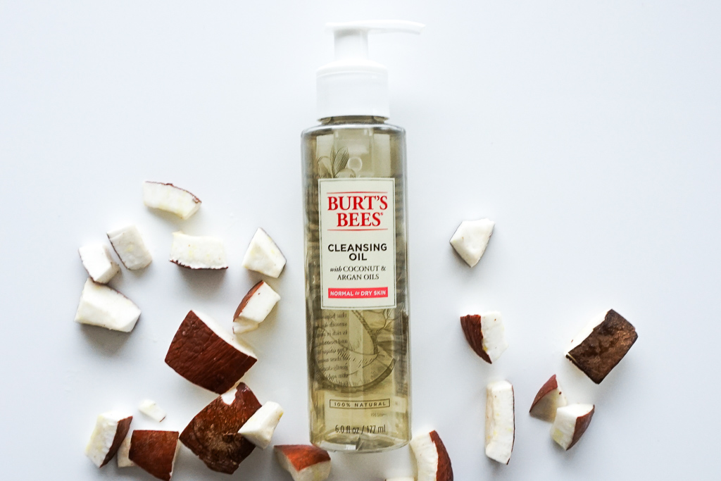 Burt's Bees Facial Cleansing Oil with Coconut & Argan Oils recenzia