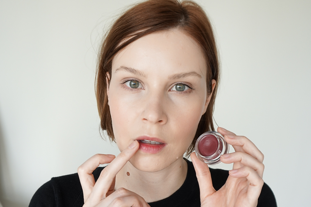 Trinny London Lip2Cheek Munchkin swatches recenzia review