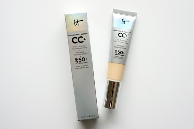 It Cosmetics Your Skin But Better CC+ Cream with SPF 50+ krém swatches fair recenzia review