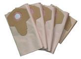 Worki papierowe kpl 5 szt do odkurzaczy: EINHELL: BT-VC 1500 W, 1600 W, 30 L, MAC ALLISTER: 1250 W, PARKY: VC 1430 S/MS, PARKSIDE: PNTS 30/4, 30/6, 30/7, SOTECO: Panda 503, 504, HITACHI: WDE 3600 Megatec DBEN01 MAGATEC