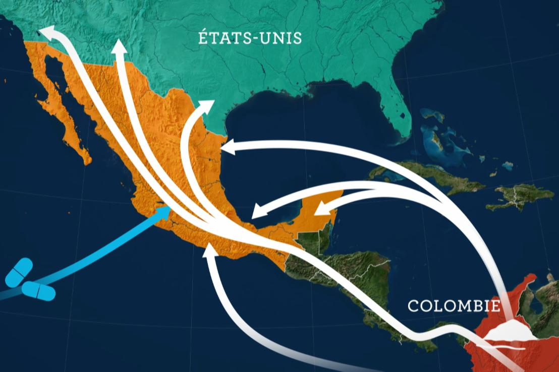 Mexique : mur, drogues et corruptions