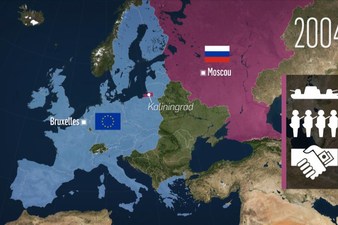 Kaliningrad, une enclave russe en Europe