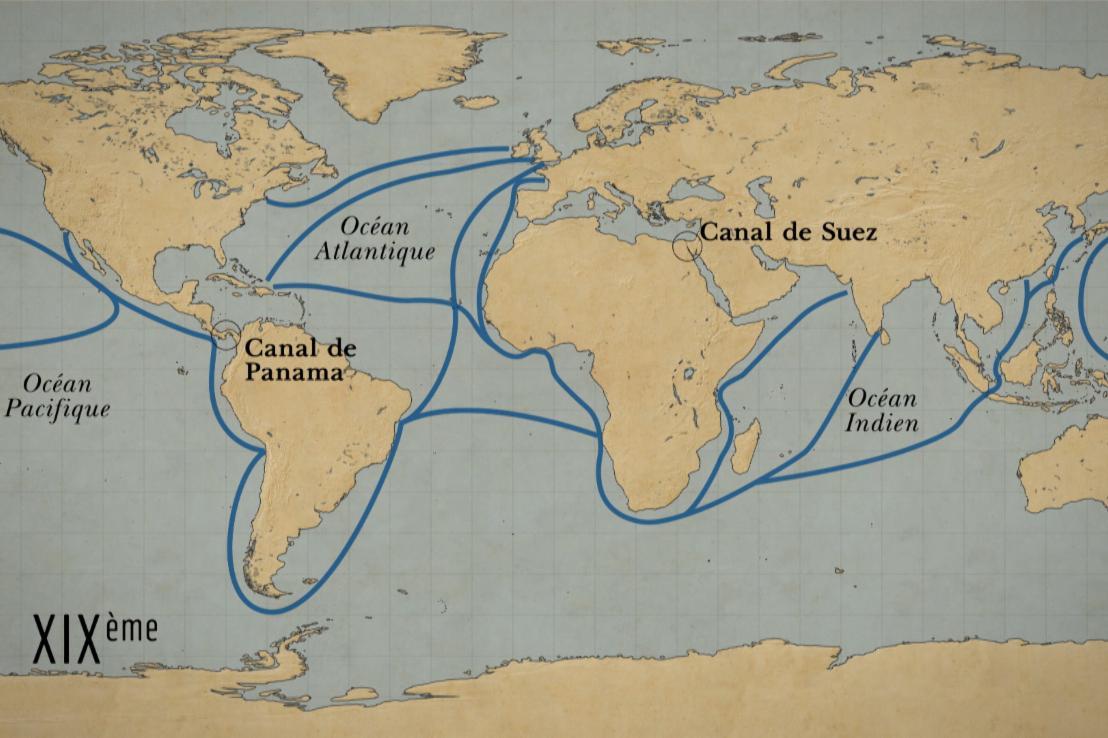 Commerce : a la conquête des océans