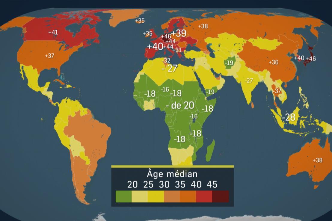 Démographie : où sont les jeunes ?