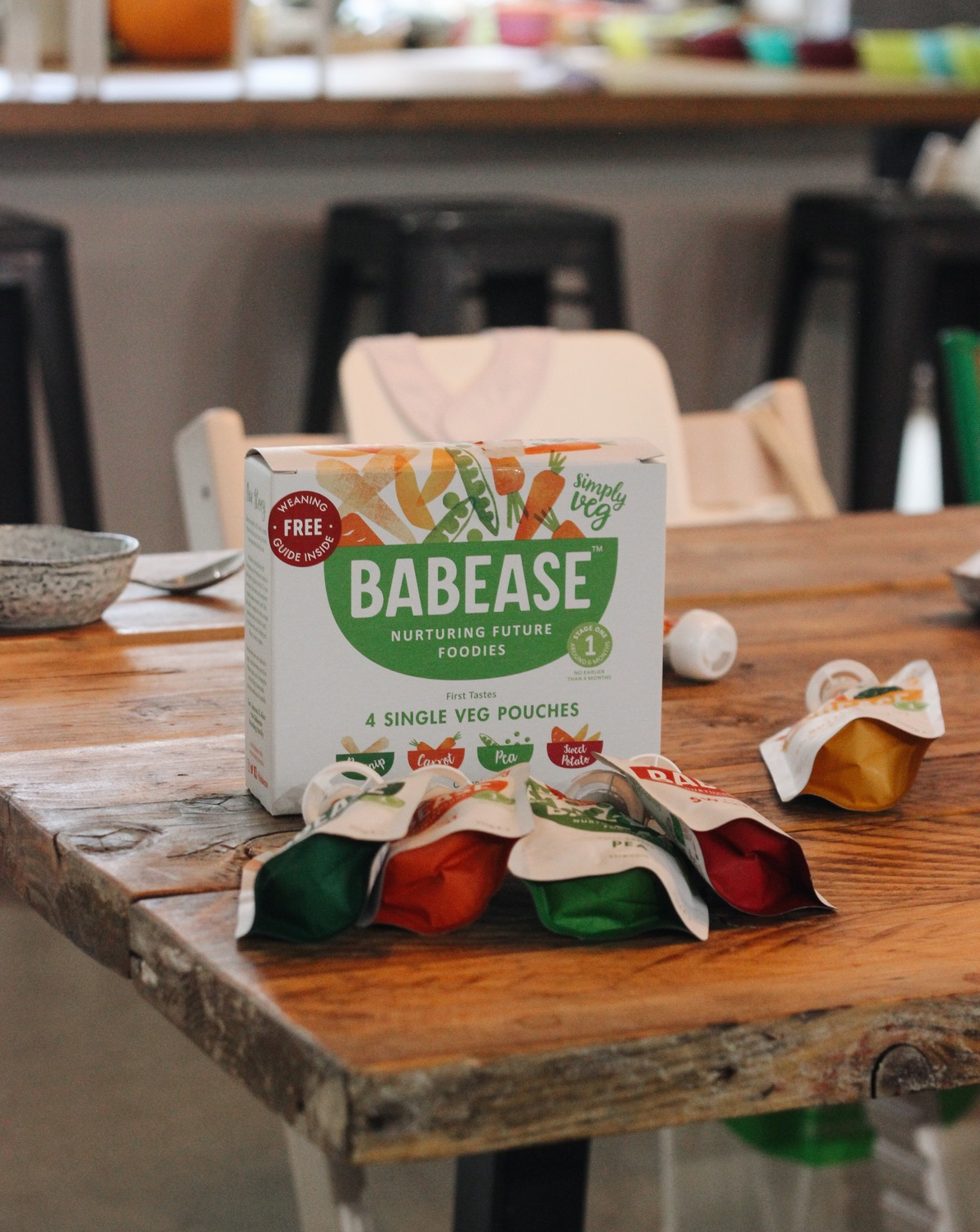 Babease weaning products