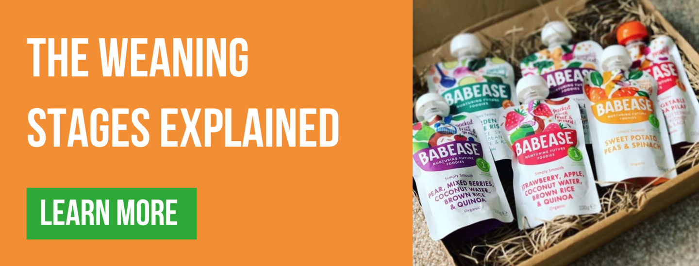The weaning stages explained Babease blog banner