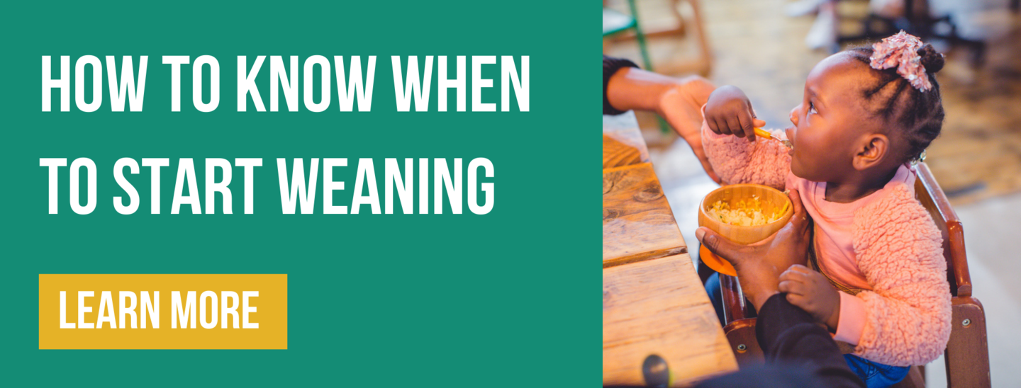How to know when to start weaning Babease blog banner