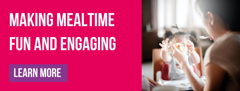 Making mealtime fun and engaging Babease blog banner