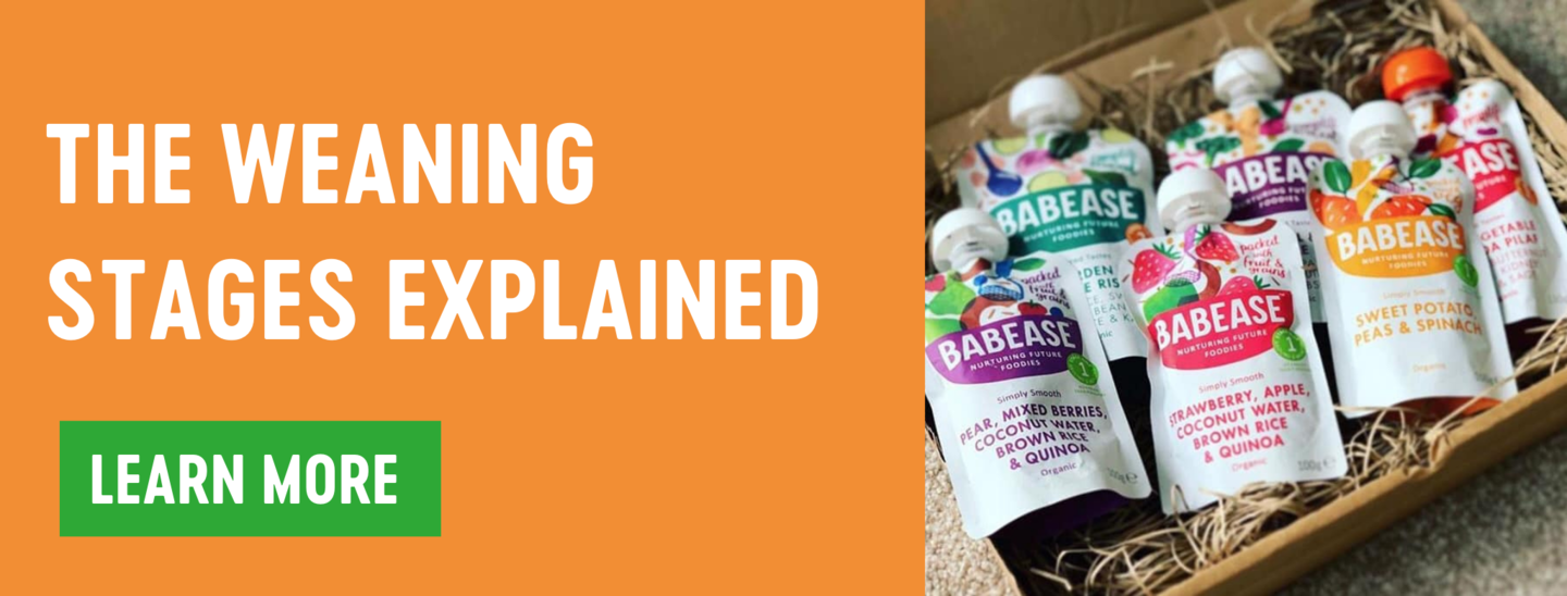 the weaning stages explained blog banner