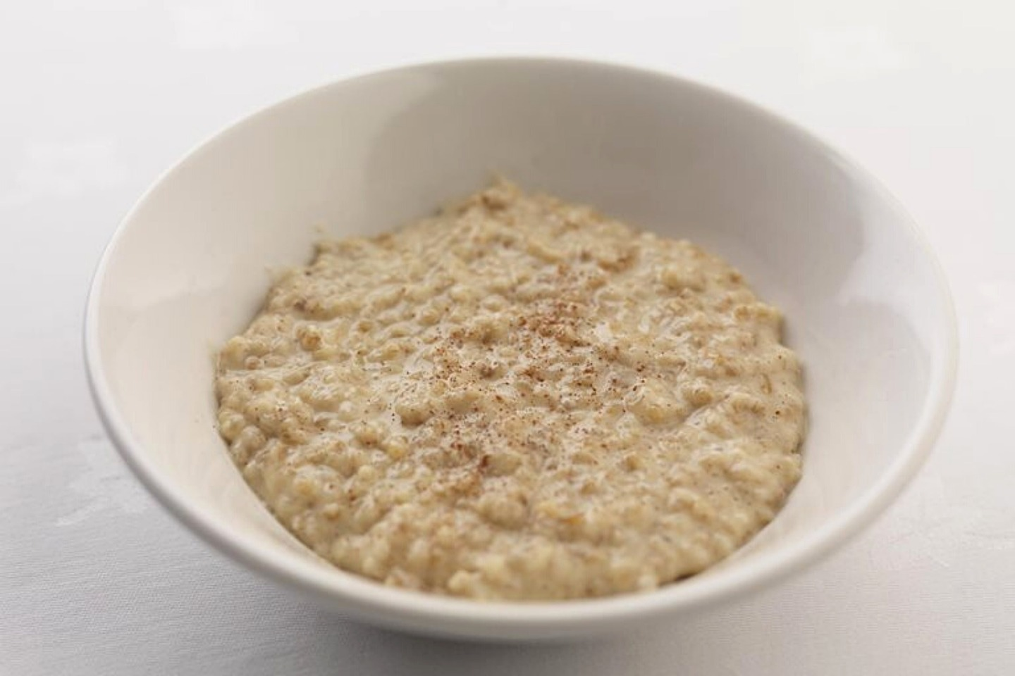 A bowl of porridge for a weaning baby