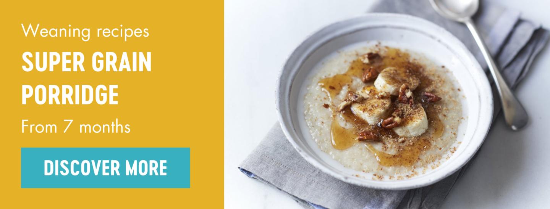 Super grain porridge weaning recipe by Babease