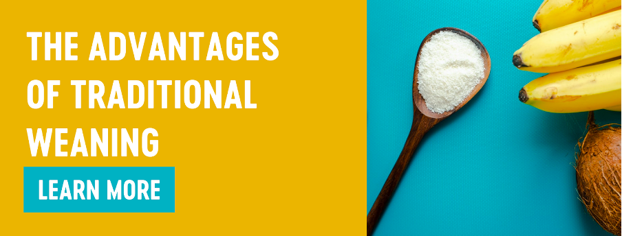 The advantages of traditional weaning Babease blog banner