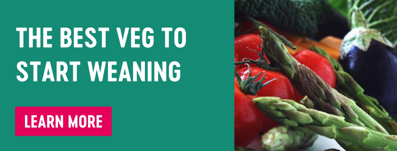the best veg to start weaning