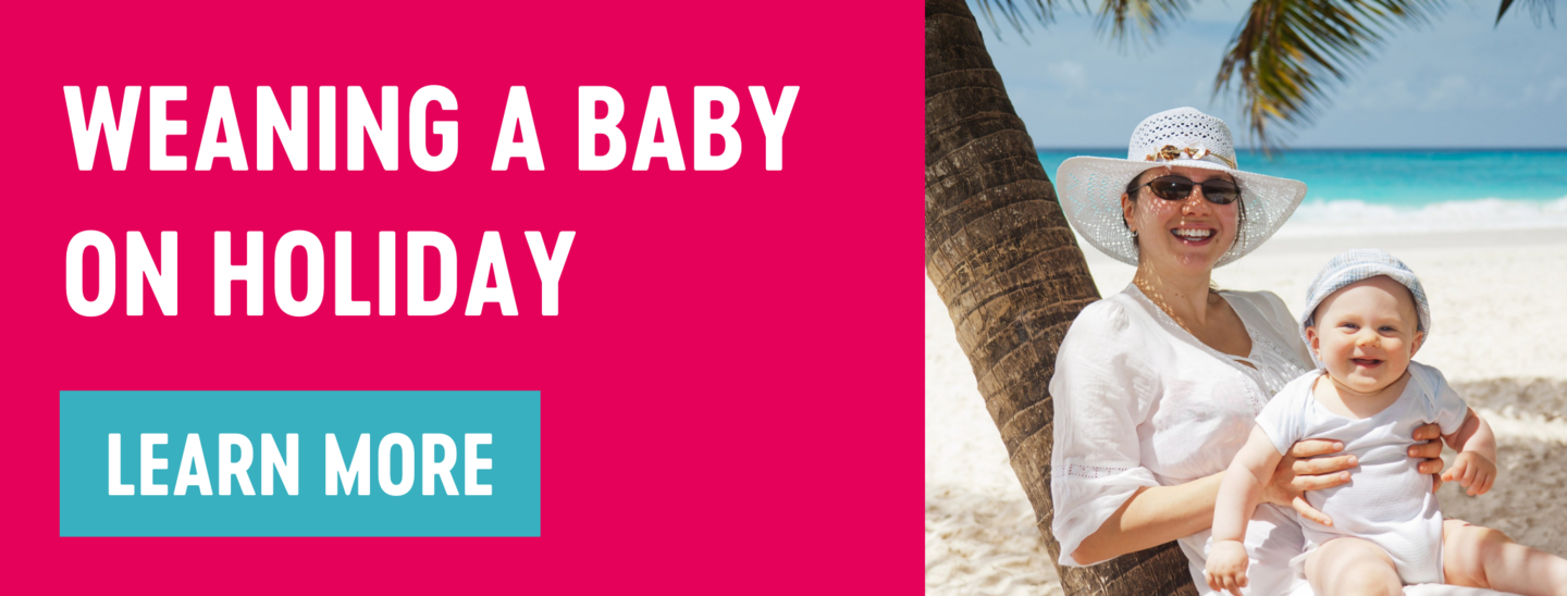 Weaning a baby on holiday Babease blog article