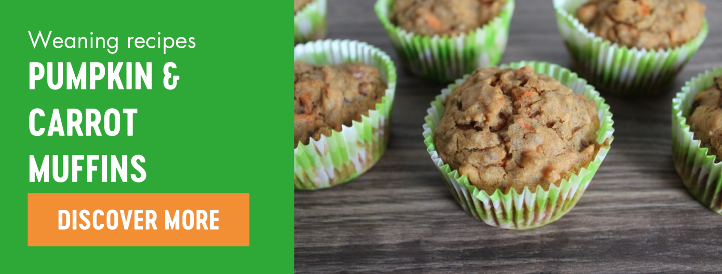 pumpkin and carrot weaning muffins recipe