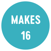 makes 16