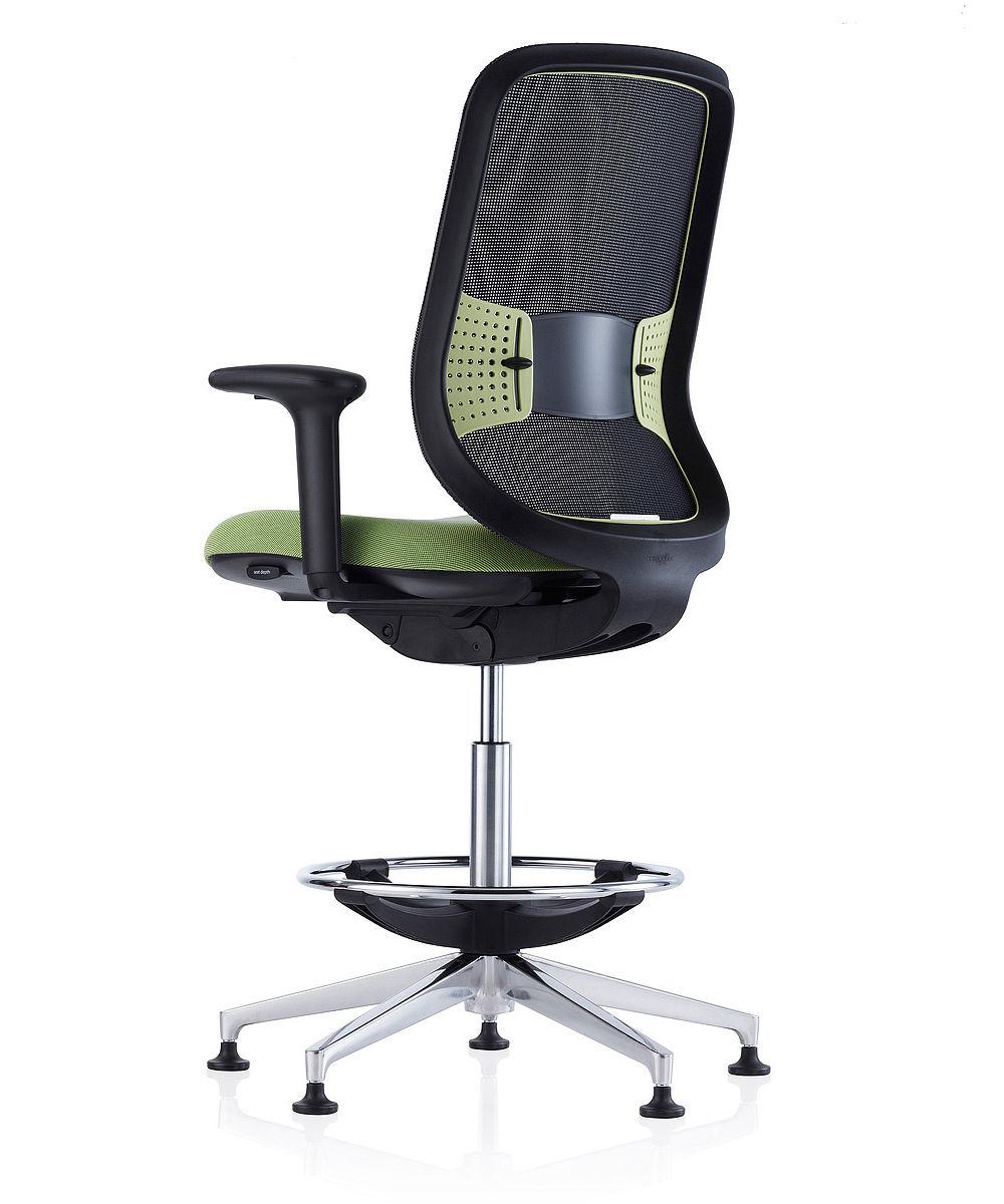 Fantastic Orangebox Do Counter High Office Chair Inzonedesignstudio Interior Chair Design Inzonedesignstudiocom