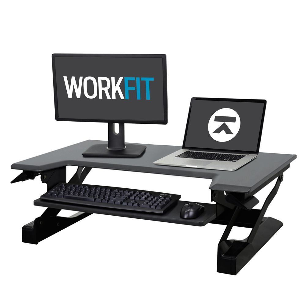 new styles 3b079 ef154 Ergotron WorkFit-T Standing Desk Workstation