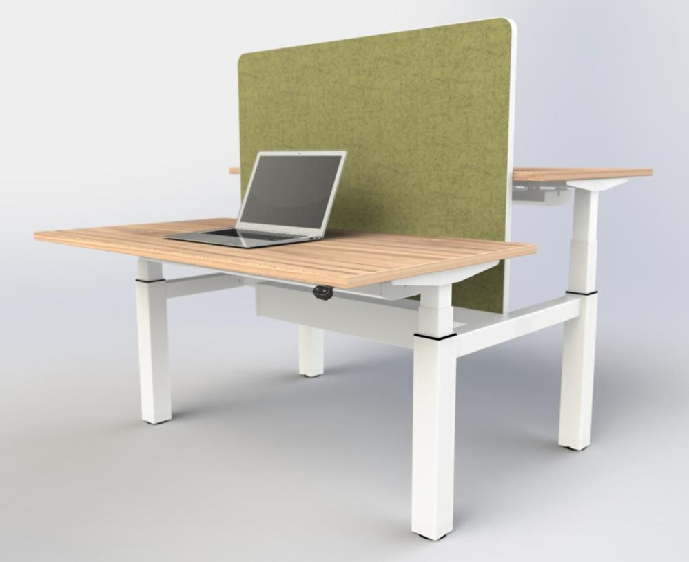Ebench sit stand bench desk 1800mm wide