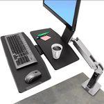 Ergotron WorkFit-A Single LD Workstation
