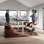 Conset 501-37 Standing Desk - Rectangular