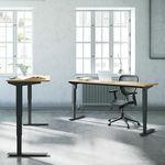 Conset 501-37 Standing Desk - Wave