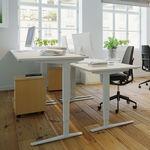 Conset 501-43 Standing Desk - Rectangular