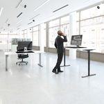 Conset 501-49 Sit Stand Electric Desk - Frame Only