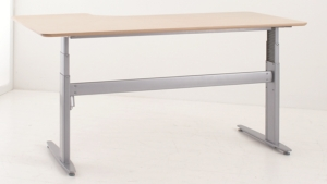Conset 501-29 Sit Stand Electric Desk - Radial