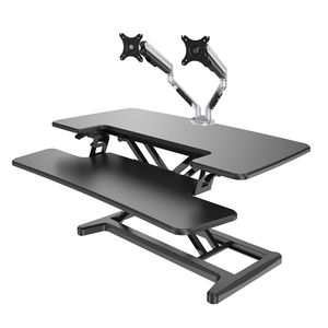 Freelift Sit Stand Workstation And Monitor Arm Bundle