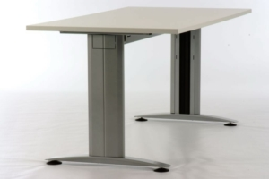 Mod-V Height Adjustable Desk - Radial