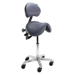 Score Jumper With Lumbar Support Saddle Stool