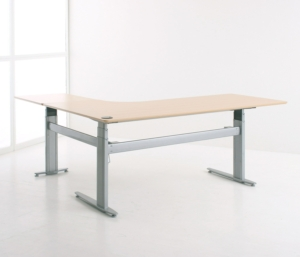 Conset 501-27 Sit Stand Electric Desk - Corner