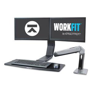 Ergotron WorkFit-A Dual LD Standing Workstation
