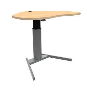Conset 501-19 Sit Stand Electric Desk - Curvy Corner