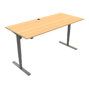 Conset 501-49 Sit Stand Electric Desk - Wave