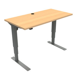 Conset 501-37 Standing Desk - Rectangular