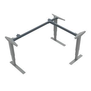 Conset 501-37 3 Leg Standing Desk - Frame
