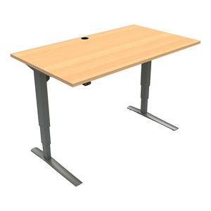 Conset 501-43 Standing Desk - 120 Degree Curved