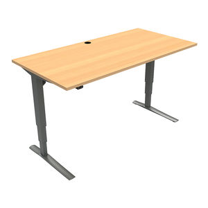 Conset 501-43 Standing Desk - Rectangular