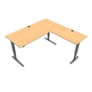 Conset 501-43 Standing Desk - Corner