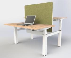 eBench Sit-Stand Bench Desk (1400mm Wide)